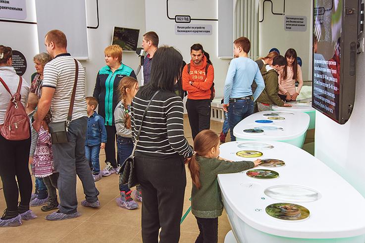 Создание визит-центра, музея и экспозиции выставки