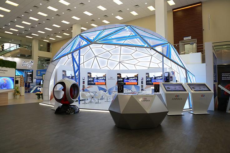 Дизайн, производство и застройка выставочного стенда и экспозиции