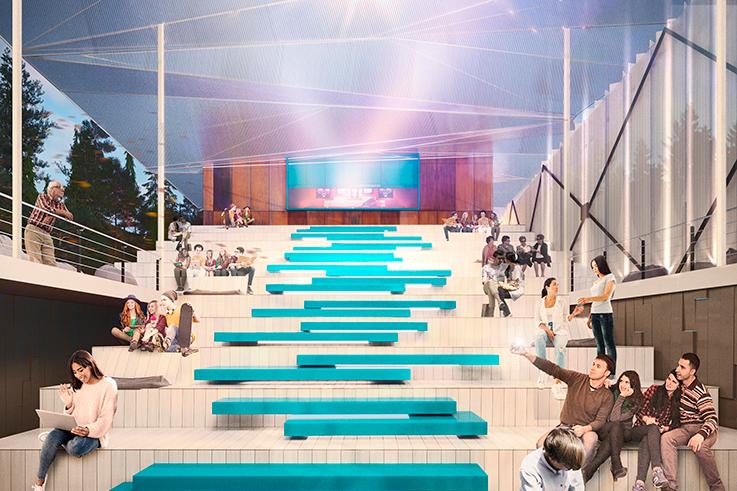 Создание летнего кинотеатра в Кисловодске и прилегающей выставочной экспозиции