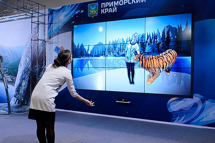 Разработка для музеев и выставок интерактивной инсталляции с дополненной реальностью