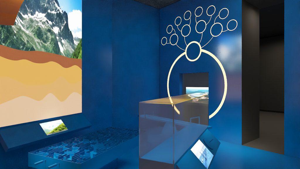 Разработка и создание мультимедийных инсталляций «Парк будущего»
