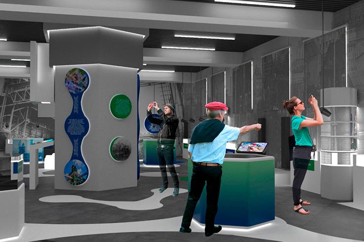 Создание эскизного дизайн-проекта корпоративного музея филиала «Азот»